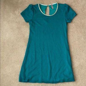Green short sleeved dress from Francescas